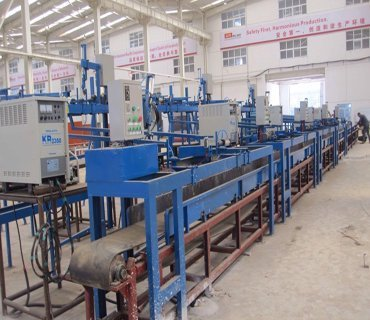 Scaffold Production Line