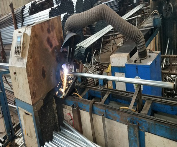 Acrow Prop Pipe Cutting