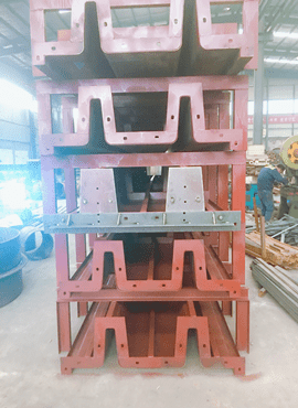 Double Tee Steel Formwork