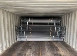 Formwork Props Load in Container