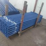 Blue Scaffold Props Packing