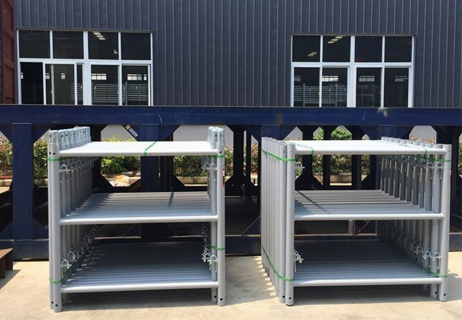 Scaffold Frame Packing