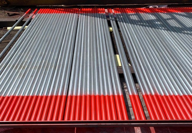 Galvanized Scaffolding Pipe with Ends Painting