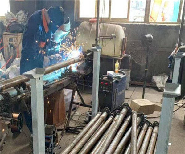 Scaffold Prop Plate Welding