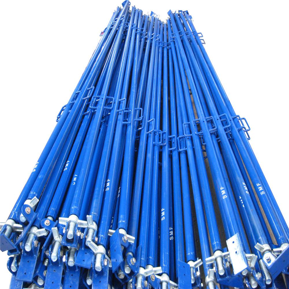Scaffolding Wall Push Pull Prop with Painted Blue