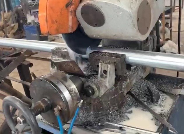 Cutting Pipe For Scaffold Props