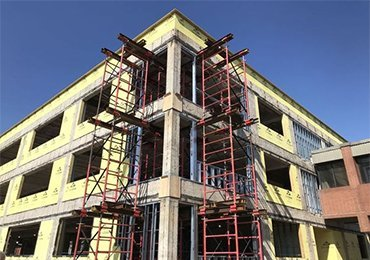 Shoring and Scaffolding for daily maintenance work