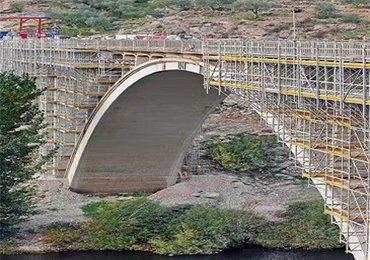 Shoring and Scaffolding for bridge construction